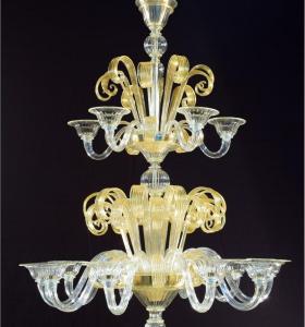 Luminaires Classiques Art.020 / 10 + 4 lights