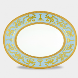 Imperial Crown Flat Oval