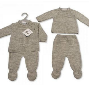 2-piece woven baby set