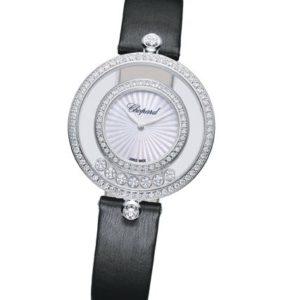 Happy Diamonds Icons Round Ø 32mm quartz 《 CHOPARD 》