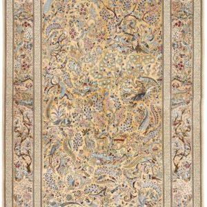 Isfahan silk warp rugs