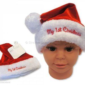 Baby Boys Christmas Hat - My First Christmas