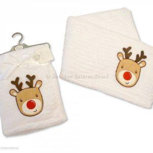 Baby Christmas Wrap - Reindeer