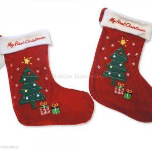 Baby Christmas Stocking - My First Christmas