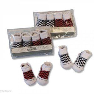 Baby Boys Socks in PEVA Bag