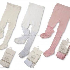 Baby Cotton Lace Tights