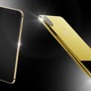 24ct Gold iPhone XS Unique Edition