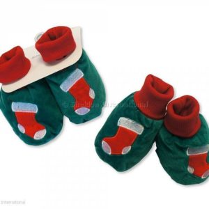 Baby Christmas Booties - Stockings