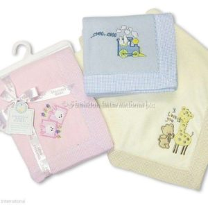 Baby Check Panel Blankets